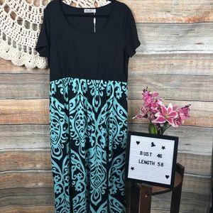 a5e874f2b7b Laura Ashley Silk Blend Velvet Lined Maxi Dress 4 New Nemidor Maxi Dress Plus  Size 18